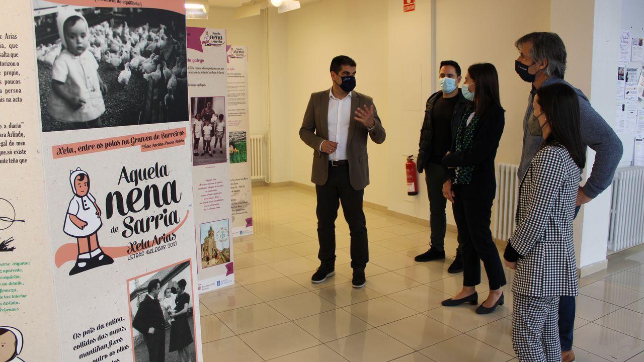Gabriel Alén presentou a mostra este luns