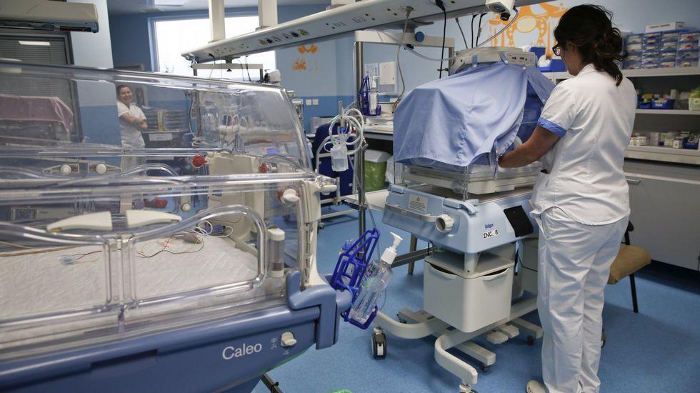 Ramón Gallego con Haile Gebreselassie.Una sala de maternidad