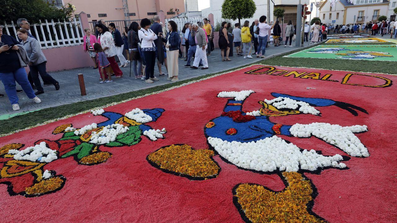 Burela rindió homenaje a su patrona en la procesión marítima.Lucus Ensemble, no Vello Cárcere para celebrar os 17 anos da Muralla como Patrimonio da Humanidade