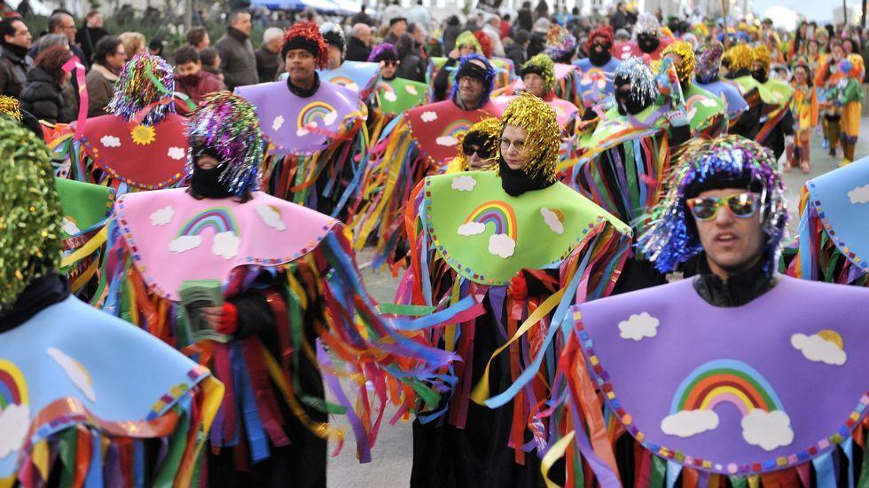 Desfile en Ferrol