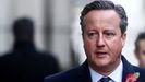 El ex primer ministro británico David Cameron, en un acto en noviembre del 2019