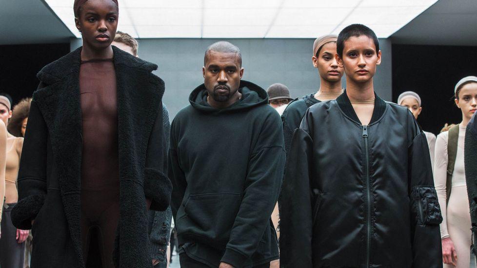 Semana de la Moda de Nueva York.Colección de Adidas en la que colabora el rapero Kanye West