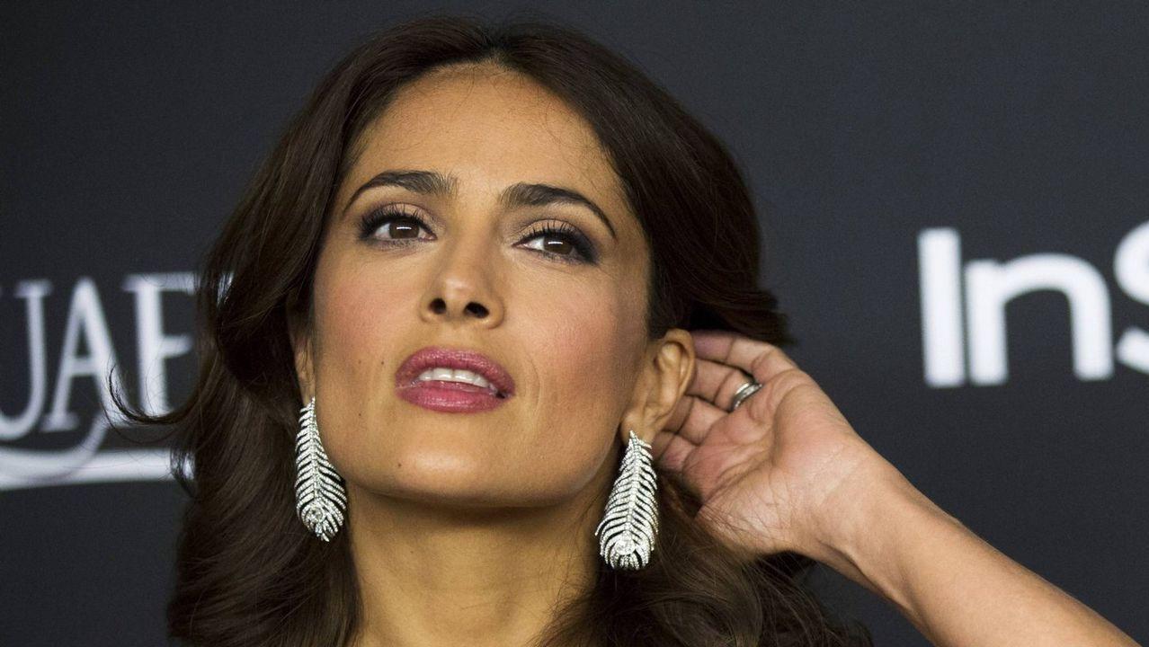 Salma Hayek: «Weinstein aseguró que me rompería las rodillas».Joan Roca
