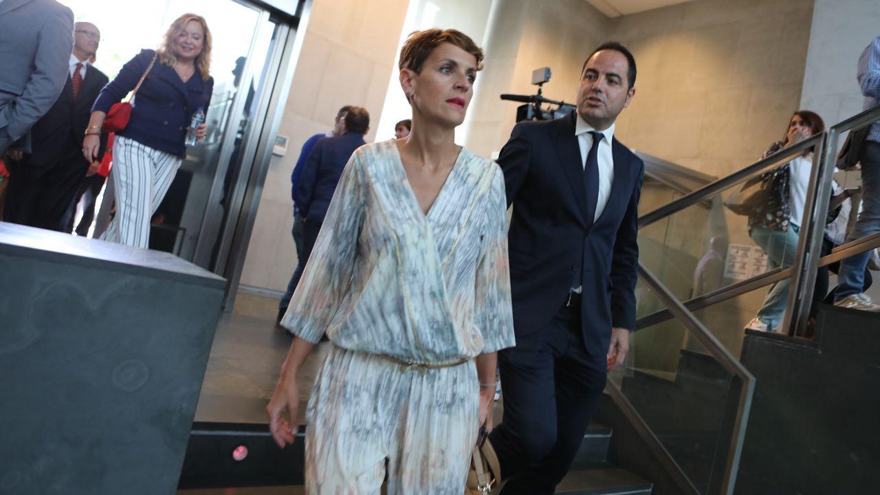 María Chivite ha llegado a un pacto con Geroa Bai, Podemos e Izquierda-Ezquerra para gobernar Navarra