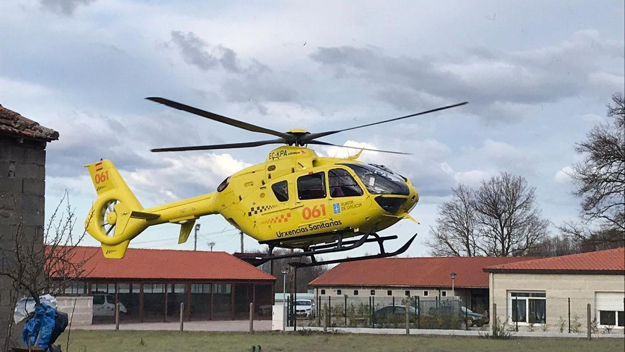 Helicóptero medicalizado del 061