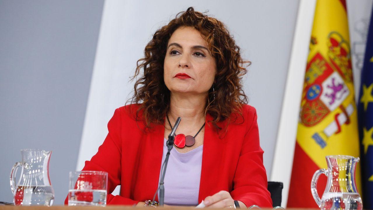 La ministra de Hacienda, Maria Jesús Montero