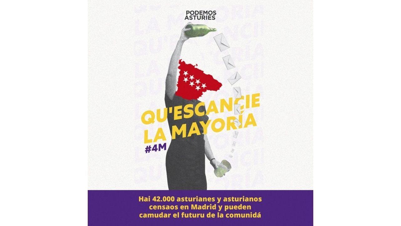 Campaña de Podemos Asturies.El músico Nacho cano hace una reverencia a la presidenta madrileña, Isabel Díaz Ayuso, tras ser condecorado con la Gran Cruz de la Orden del Dos de Mayo