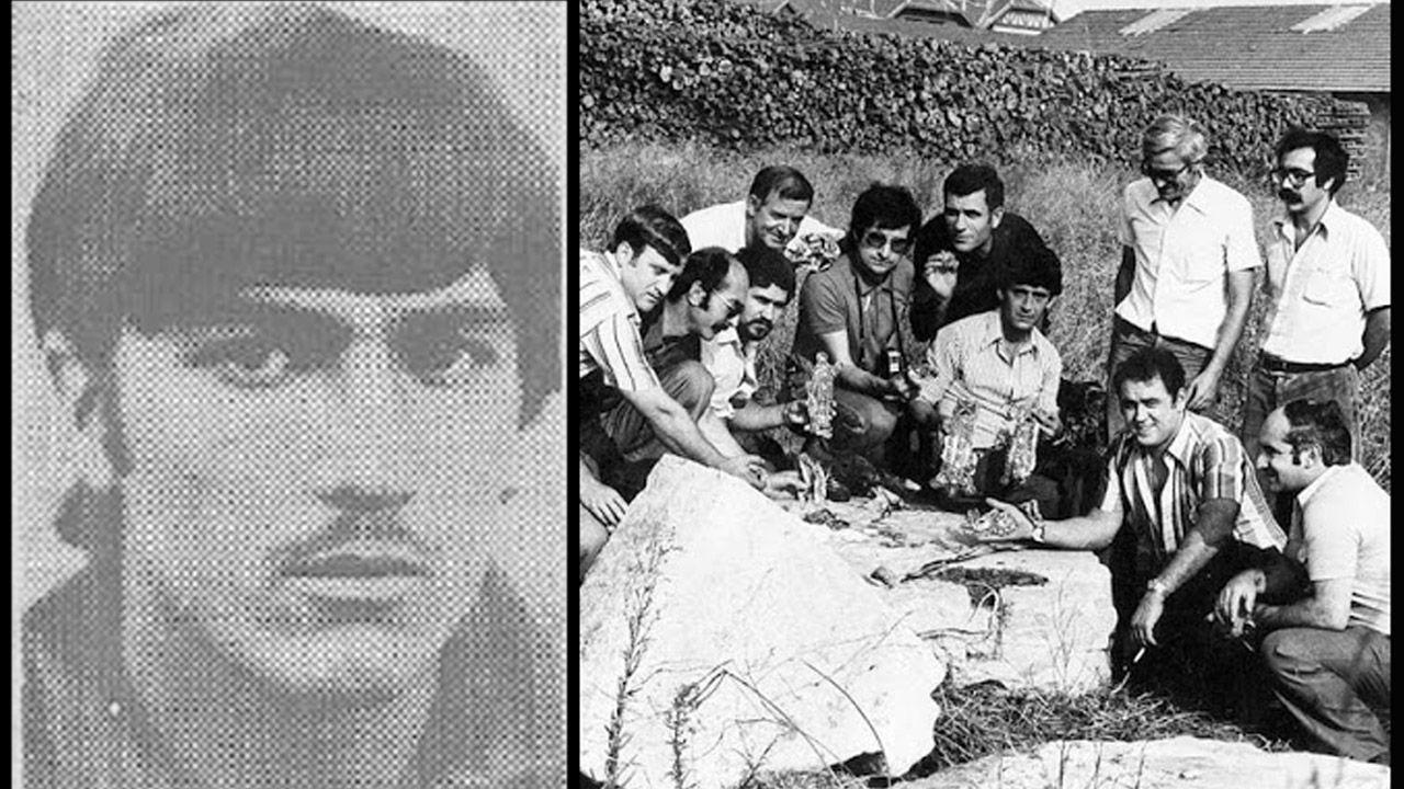 Entrevista íntegra a Fernando Vázquez: «Mi carrera estuvo mal dirigida».A la izquierda, Domínguez cuando cometió el robo, en 1977. A la derecha, recuperación de parte de las reliquias