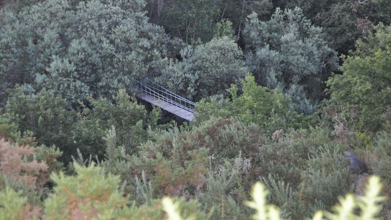 El de Calvelo, en el valle del Lérez, es uno de los más alejados del bullicio