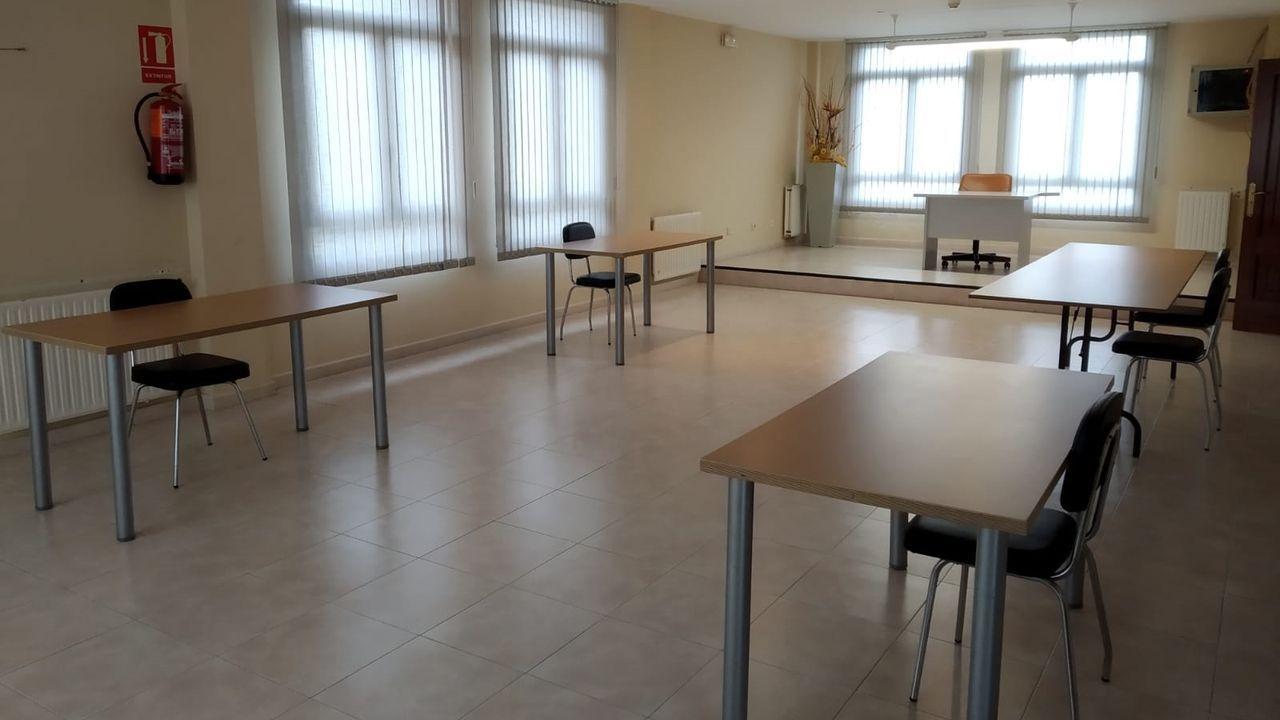 La sala de trabajo, que cuenta con acceso gratuito a Internet, estará disponible en horario de mañana