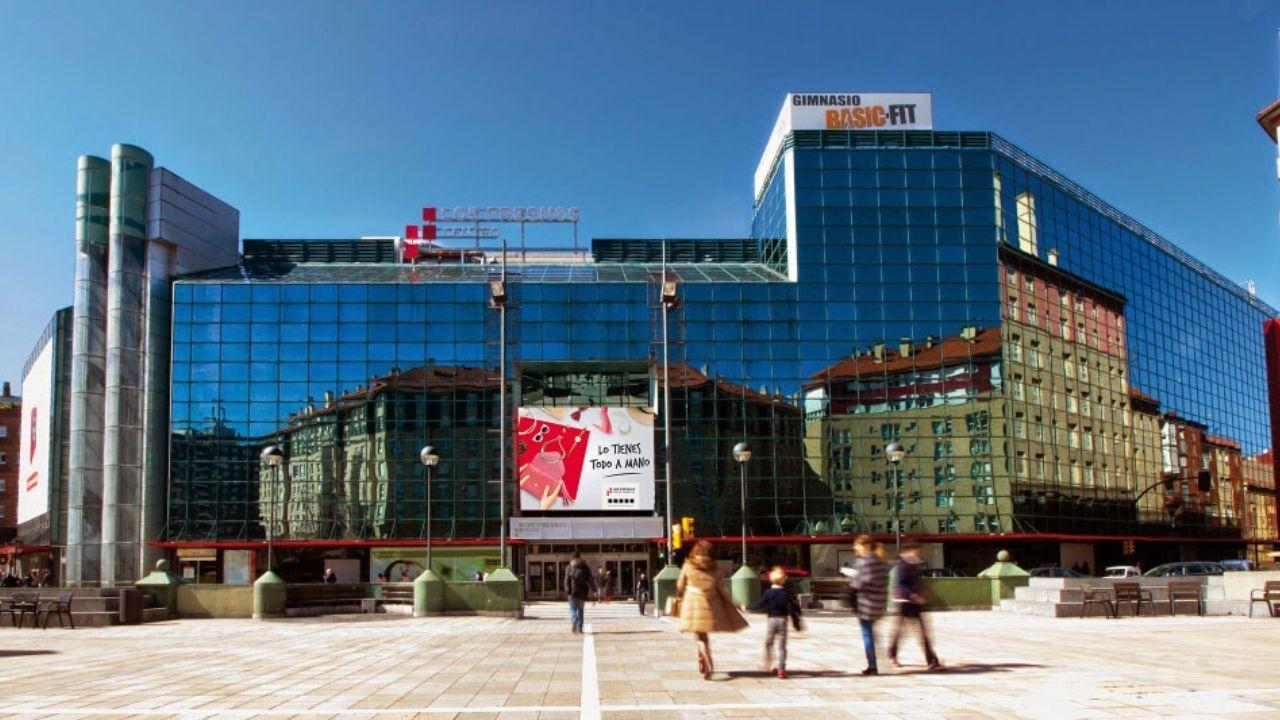El centro comercial Los Fresnos, en Gijón