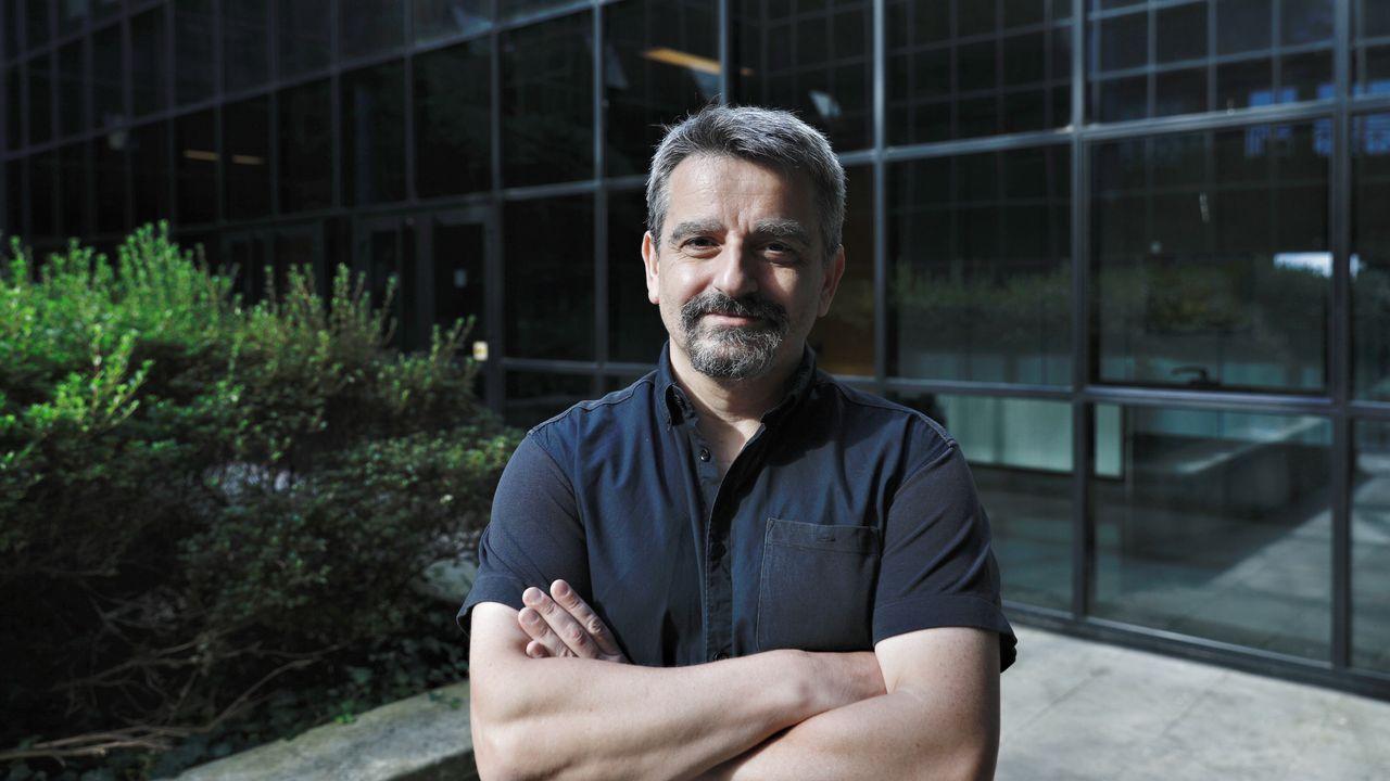Gil Garrote es decano de la Facultad de Ciencias del campus de Ourense