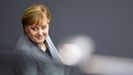 Angela Merkel, en la última sesión del Bundestag