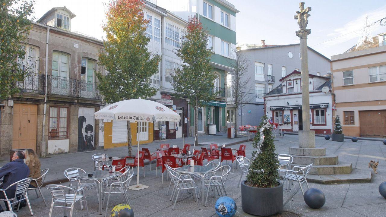 La cafetería Cuitu Negro, situada en la estación de esquí de Valgrande Pajares.Sede del Colegio Oficial de Arquitectos de Asturias