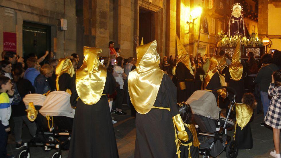 Procesión de la Humildad, en Santiago