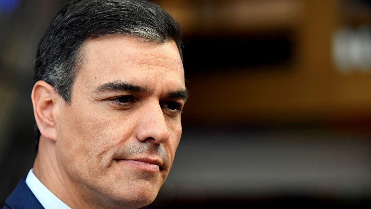 Todas las imágenes de la selectividad en Galicia.Sánchez y Casado, el pasado mes de junio en el Congreso