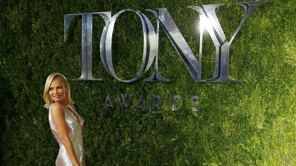 La actriz Kristin Chenoweth