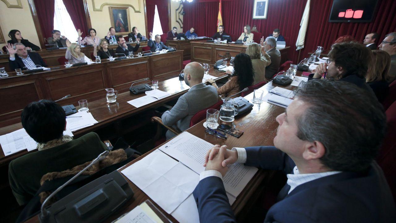 El Congreso debate y vota la nueva prórroga del estado de alarma.Pleno municipal de Lugo