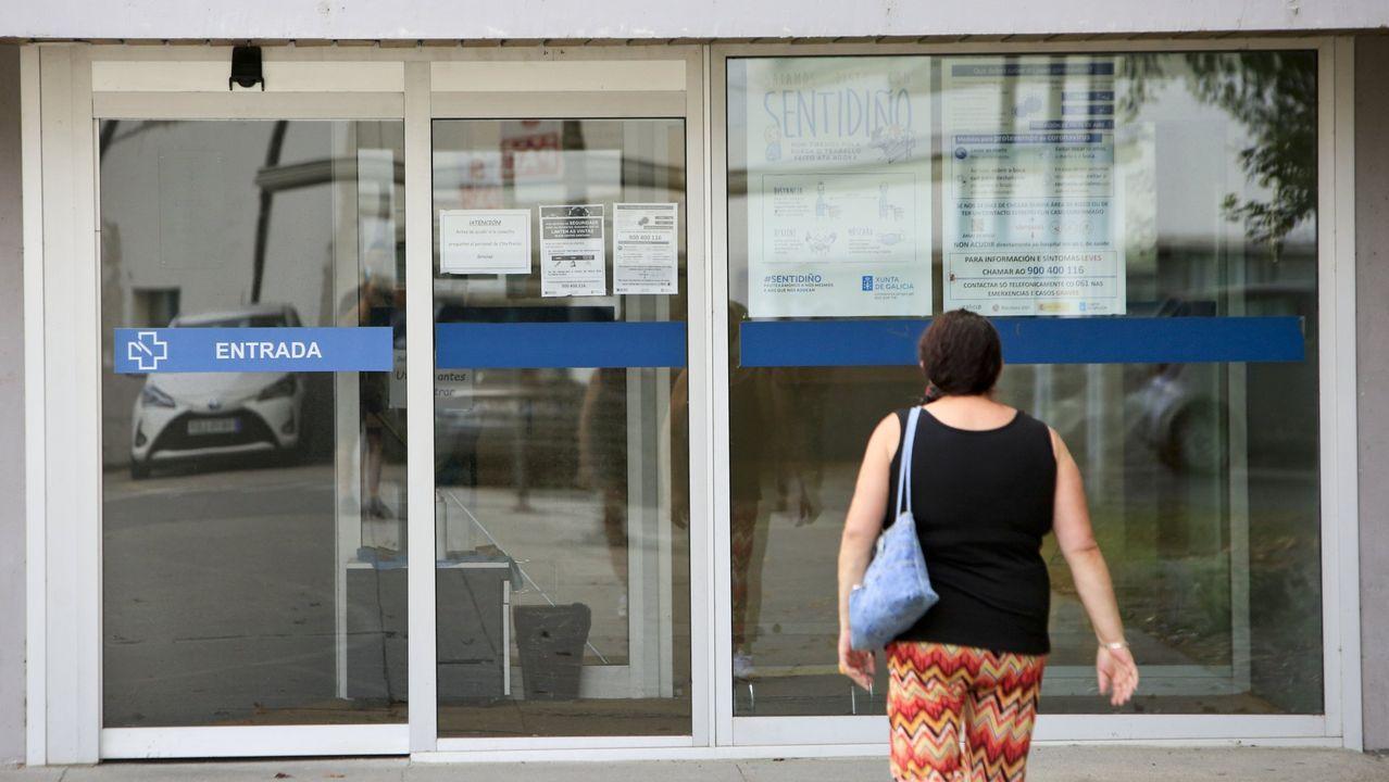 Imagen de archivo de un centro de salud en Sarria