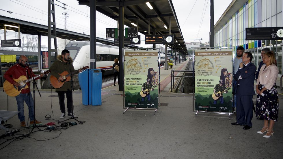 La música llega al tren