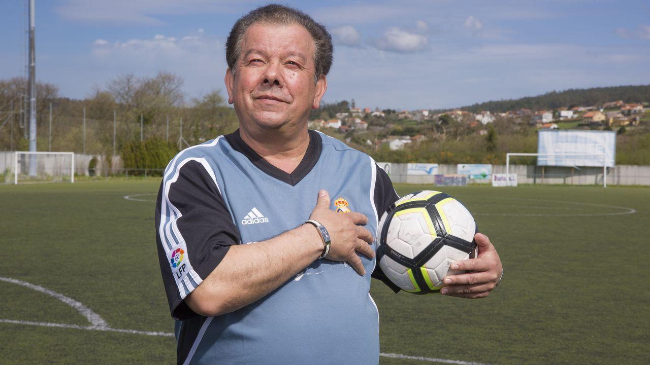 «A miña muller chegoume a dicir que escollera entre ela e o fútbol».Asunción Rodríguez, de la bodega Crego e Monaguillo