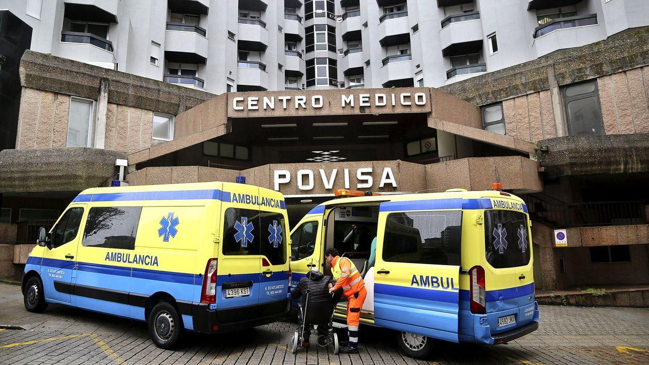 Rumbo a Israel en plena pandemia.Trasladan al Cunqueiro, por la tarde, a una residente de Barreiro por si tiene el coronavirus