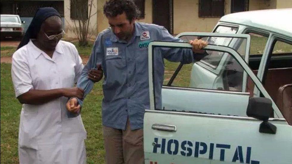 Álvaro Neil sufrió algún problema de salud en su viaje, como en Nigeria.Álvaro Neil sufrió algún problema de salud en su viaje, como en Nigeria