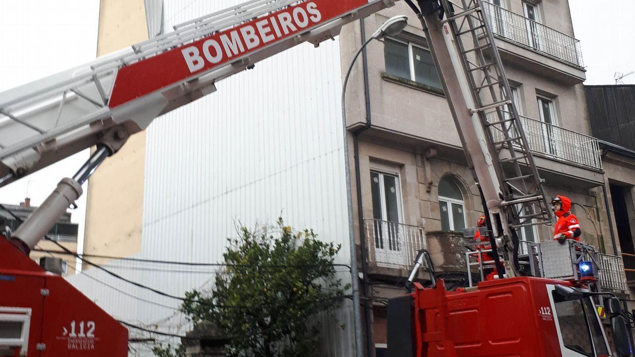 Frío en Galicia.Gráfico de contaminación en las cuencas
