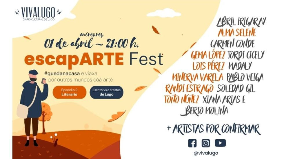 Cartel do festival literario