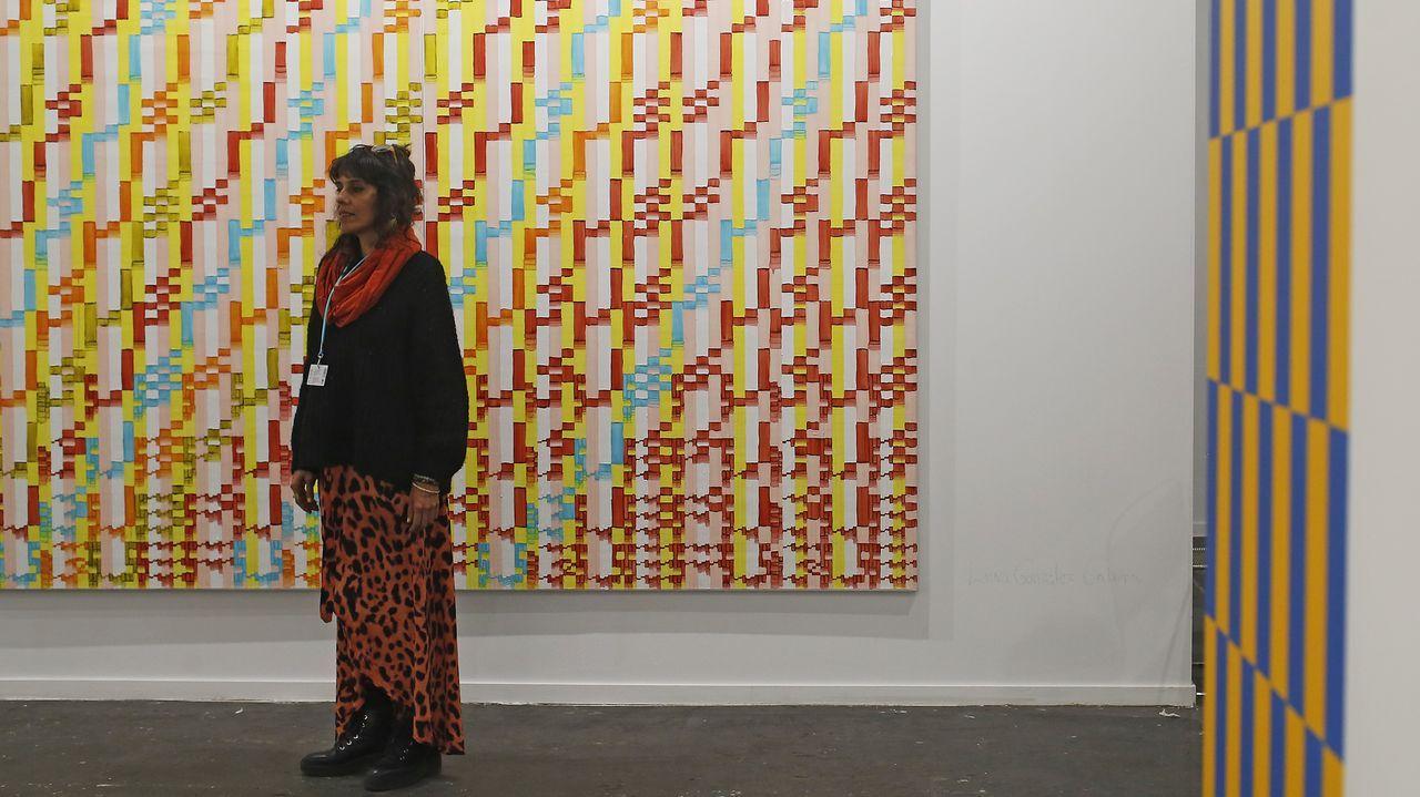La galería extremeña Ángeles Baños presenta la obra de la canaria Laura González Cabrera y la de Yaima Carrazana
