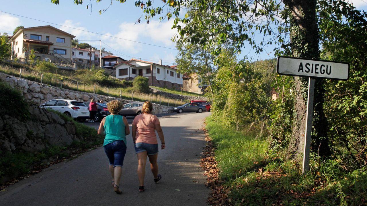 l'escudu d'armes de xixon.Asiegu, aldea de Cabrales situada en el corazón de los Picos de Europa