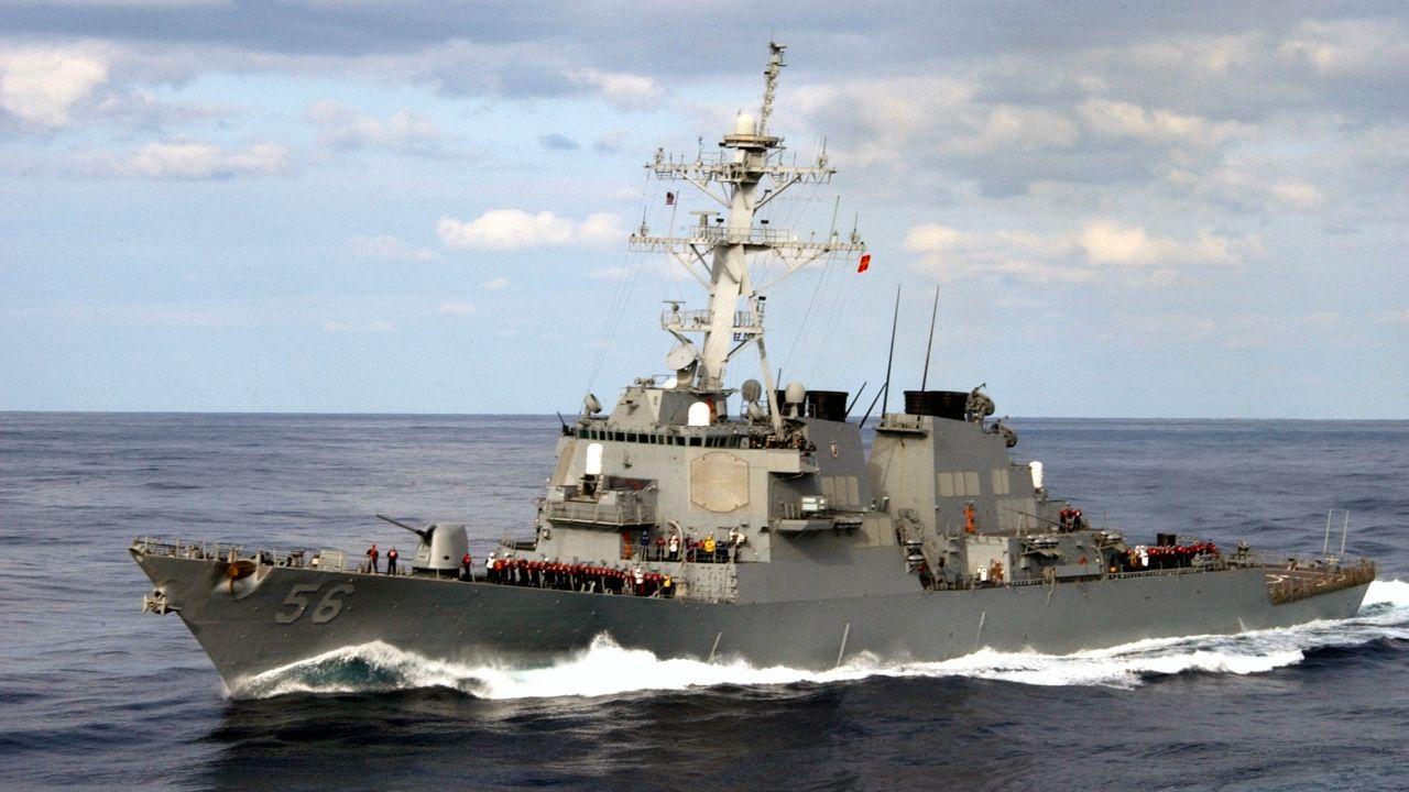 El destructor USS John McCain, en una imagen del 2003