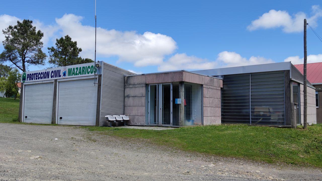 Las instalaciones se sitúan en la parte trasera del polideportivo de A Picota