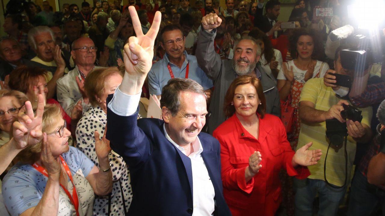 Caballero arrasa y supera la barrera histórica de los 100.000 votos