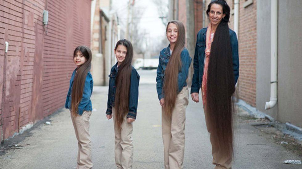 Así es la familia Rapunzel.Cantante rumano deja boquiabiertos a los jueces