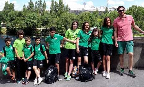 Los nadadores monfortinos compitieron en el Cidade de Lugo
