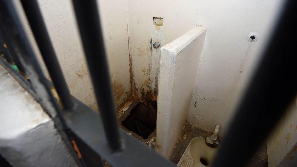 Cama en la celda de «El Chapo» Guzmán.