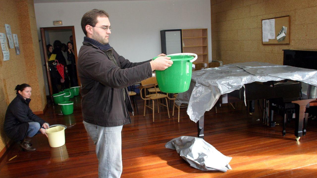 Fruta.Francesc Arnau en la sala de prensa del Carlos Tartiere