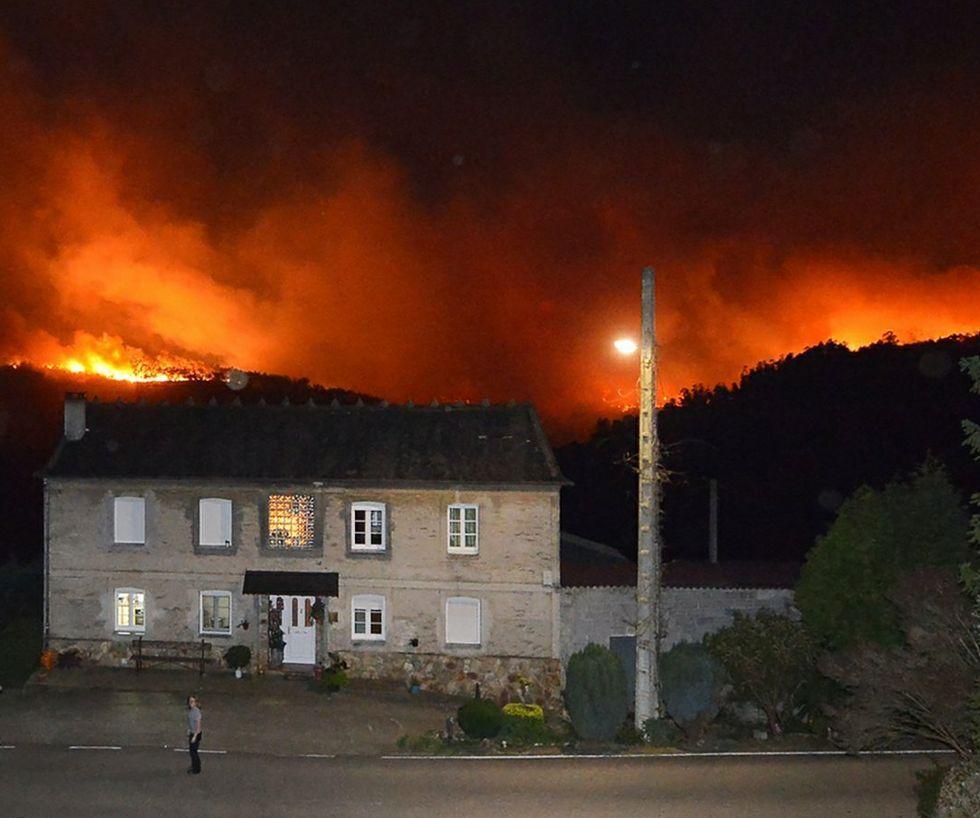 En diciembre, el fuego arrasó 2.500 hectáreas en el Occidente.