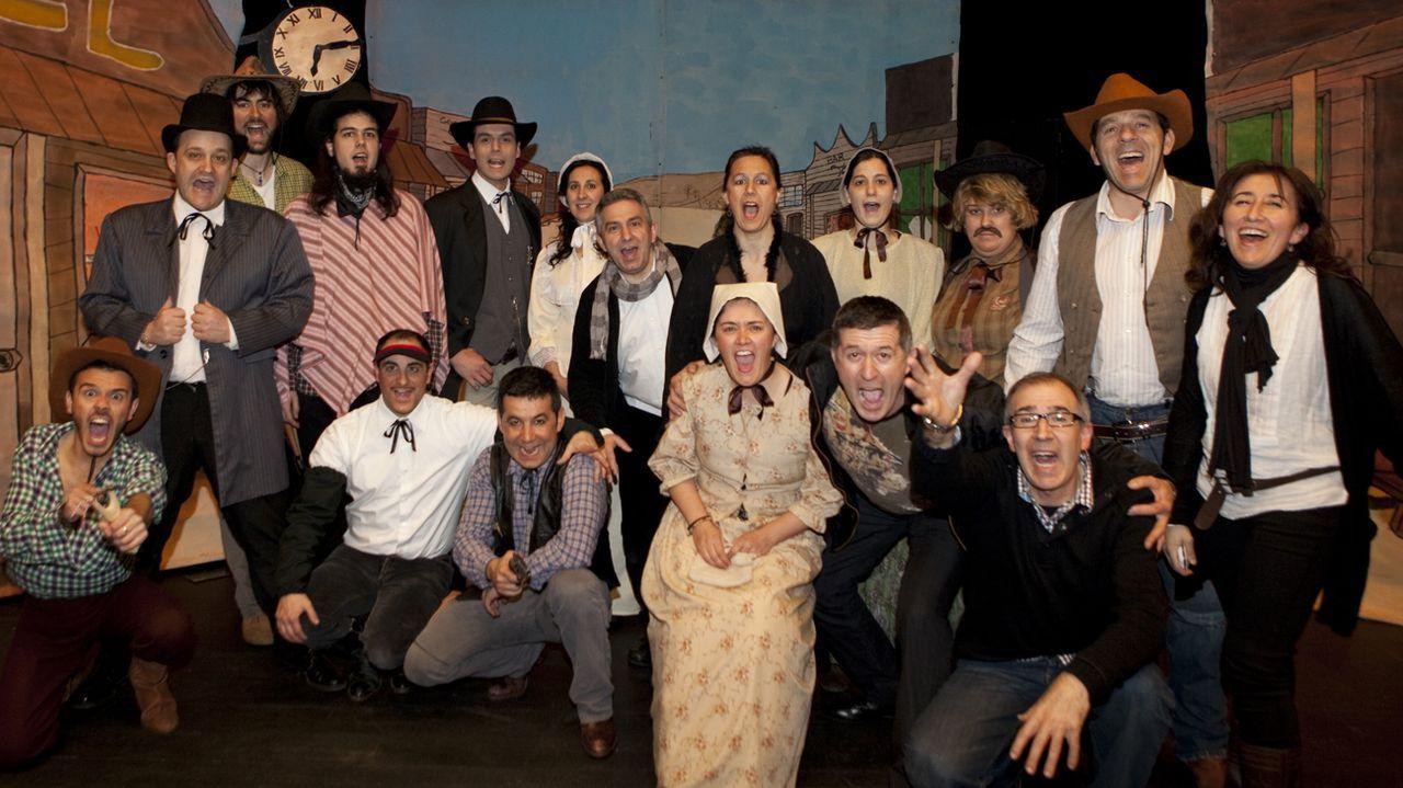 Teatro-Circo Santa Susana.«¡Xoo... ante o perigo!»