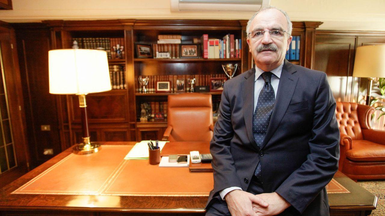 Félix Mondelos, decano del Colegio de Abogados de Lugo