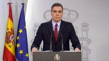 Pedro Sánchez apela a la responsabilidad de la población para asumir las restricciones que establece el real decreto para un plazo de quince días