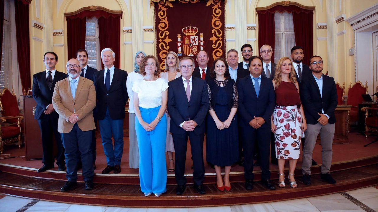 El nuevo gobierno de Melilla