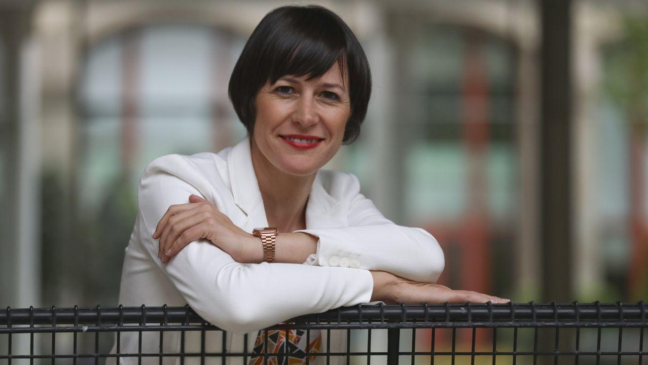 Pablo Iglesias, convencido de que formará gobierno con el PSOE.A voceira nacional do BNG, Ana Pontón