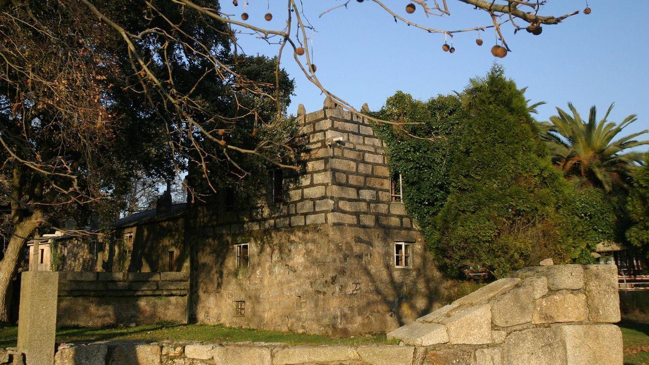 Pazo de O Pousadoiro, en Vilagarcía