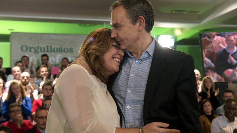 Susana Díaz: «Queremos volver a ser lo que fuimos».Antonio Trevín