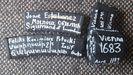 Cargadores Nueva Zelanda.El nombre de Josué Estébanez en uno de los cargadores utilizados en los ataques