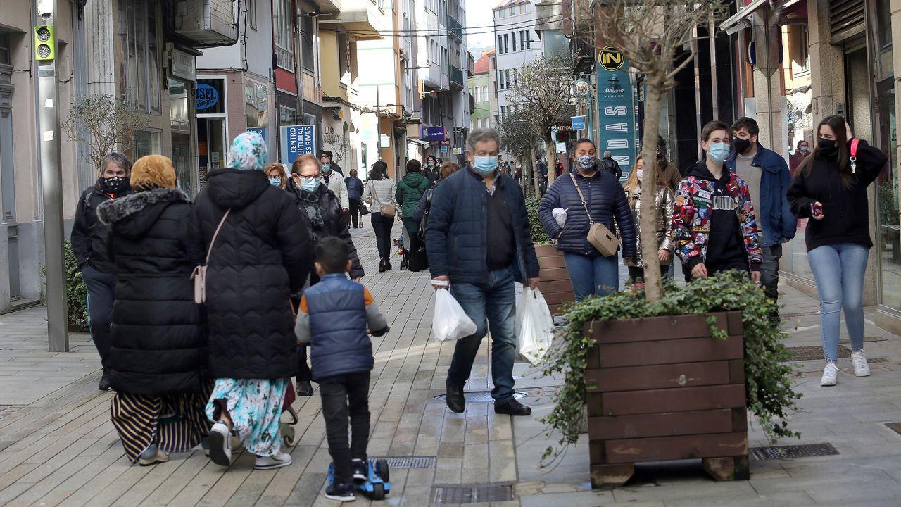 La capital barbanzana redujo cien puntos su incidencia acumulada en una semana