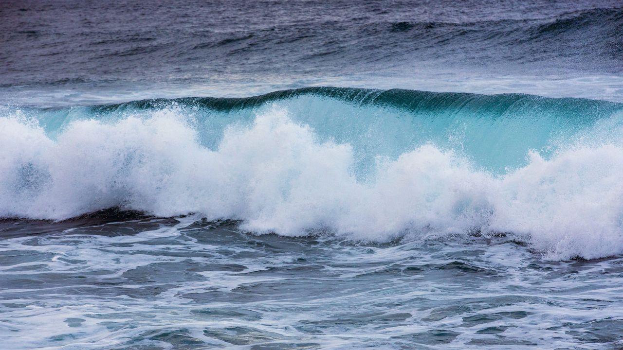 Temporal de mar en Malpica
