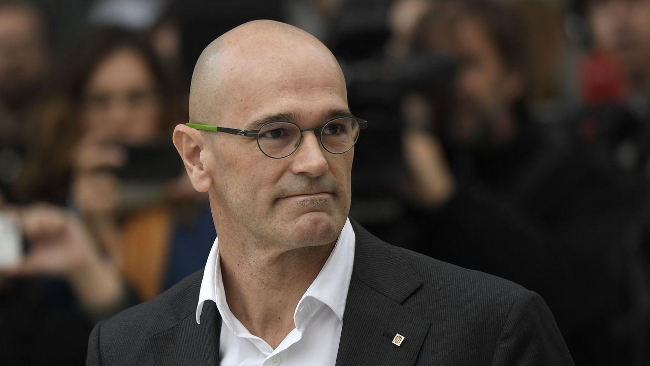 El exconseller de Asuntos Internacionales Raül Romeva, de ERC, ingresará en la cárcel de Estremera